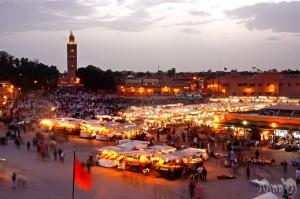 La plaza de Jmaa el fena